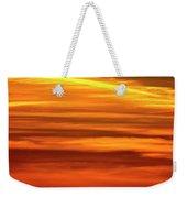Paint The Sky Gold Weekender Tote Bag