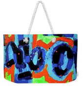 Paint What You Feel Not What You See Weekender Tote Bag