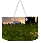 Paintbrush Sunset Weekender Tote Bag