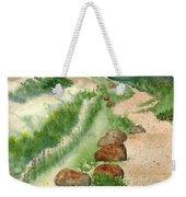 Paintbrush Trail Weekender Tote Bag
