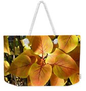 Painted Autumn Lilac Weekender Tote Bag