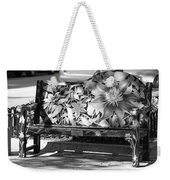 Painted Bench Weekender Tote Bag