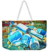 Painted Buoys Weekender Tote Bag