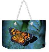 Painted Butterfly Weekender Tote Bag