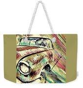 Painted Car Weekender Tote Bag