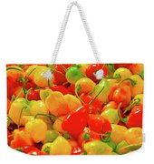 Painted Chilies Weekender Tote Bag