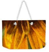 Painted Daisy Petals Weekender Tote Bag