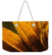 Painted Daisy Sunburst Weekender Tote Bag