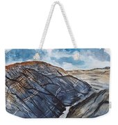 Painted Desert Landscape Mountain Desert Fine Art Weekender Tote Bag