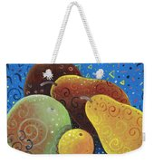 Painted Fruit Weekender Tote Bag