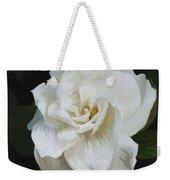 Painted Gardenia Weekender Tote Bag