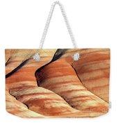 Painted Hills Stripes Weekender Tote Bag