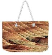 Painted Hills Textures Weekender Tote Bag