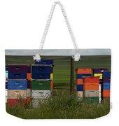 Painted Hives Weekender Tote Bag