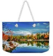 Painted Klondike Autumn Weekender Tote Bag