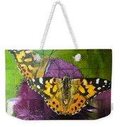 Painted Lady Butterflies Weekender Tote Bag