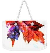 Painted Leaf Series 4 Weekender Tote Bag