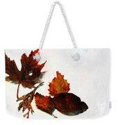Painted Leaf Series 5 Weekender Tote Bag