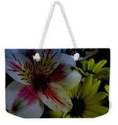 Painted Lily Weekender Tote Bag