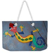 Painted Lizard Weekender Tote Bag