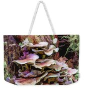 Painted Mushrooms Weekender Tote Bag