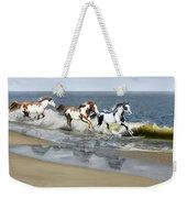 Painted Ocean Weekender Tote Bag