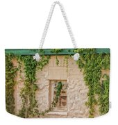 Painted Past Weekender Tote Bag