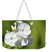 Painted Petals Weekender Tote Bag