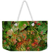 Painted Plants Weekender Tote Bag