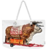 Painted Pony Rodeo Lake George Weekender Tote Bag