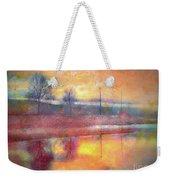 Painted Reflections Weekender Tote Bag