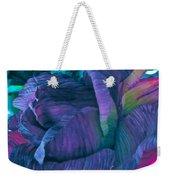 Painted Silk Weekender Tote Bag