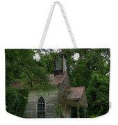 Painted St. Simons Church Weekender Tote Bag