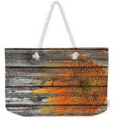 Painted Sunflower Weekender Tote Bag