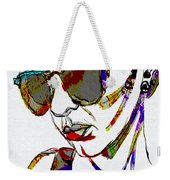 Painted Sunglasses Weekender Tote Bag