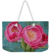 Painted Tulips Weekender Tote Bag