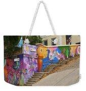Painted Walls In Valparaiso Weekender Tote Bag