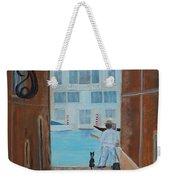 Painter In Venice Weekender Tote Bag