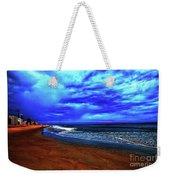 Painterly Beach Scene Weekender Tote Bag