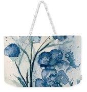 Painterly  Blues Weekender Tote Bag