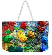 Painters Palette Weekender Tote Bag