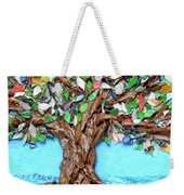 Painters Palette Of Tree Colors Weekender Tote Bag