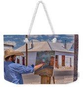Painting Barrio Viejo Weekender Tote Bag