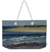 Painting Happy Valley Caloundra Qld Plein Air Painting Weekender Tote Bag
