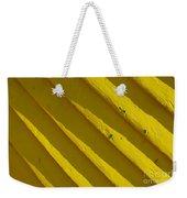 Painting It Yellow Weekender Tote Bag