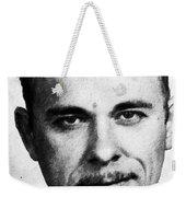 Painting Of John Dillinger Mug Shot Weekender Tote Bag