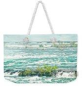 Painting Of Niagara Falls Weekender Tote Bag