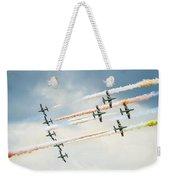 Painting The Skies Weekender Tote Bag