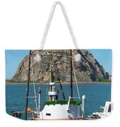 Painting The Trudy S Morro Bay Weekender Tote Bag