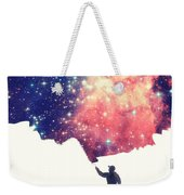 Painting The Universe Awsome Space Art Design Weekender Tote Bag